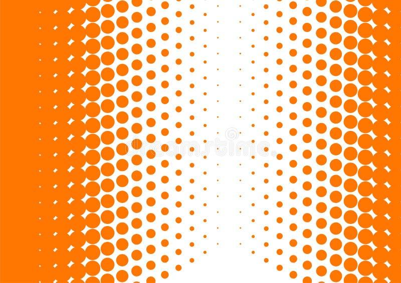 Semitono arancione royalty illustrazione gratis