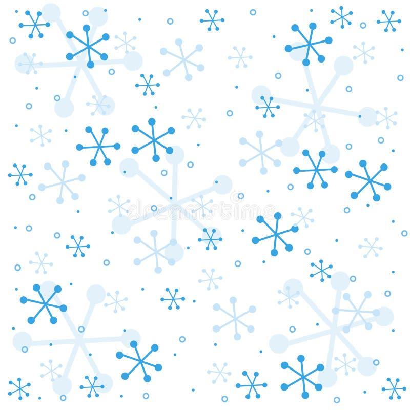 Semless Muster des Winters lizenzfreie abbildung