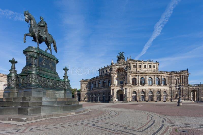 Semper Oper stockfotografie