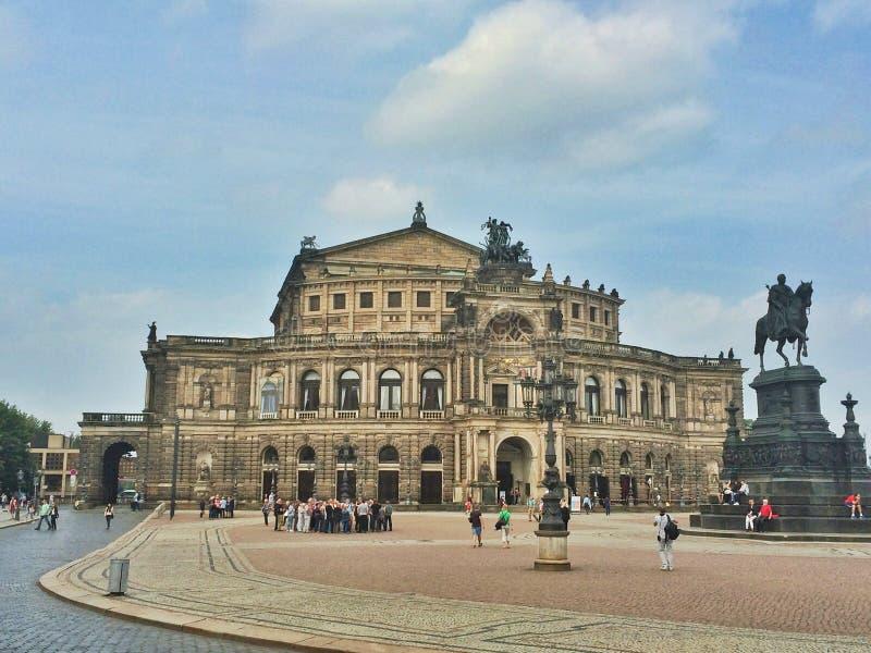 Semper opera zdjęcie royalty free
