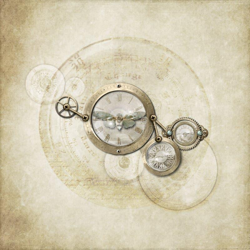 Semplicità di Steampunk fotografie stock libere da diritti