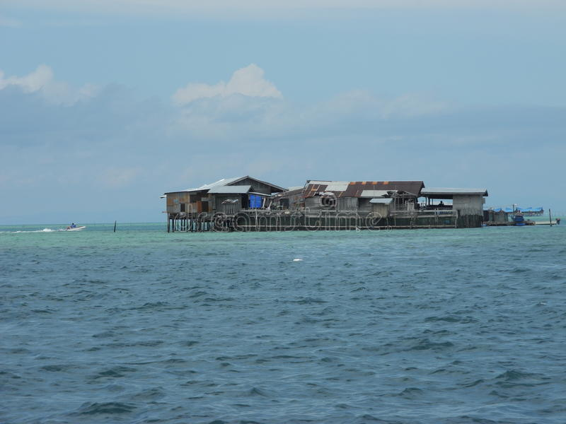 Sempoerna, Sabah, Malaysia lizenzfreie stockbilder