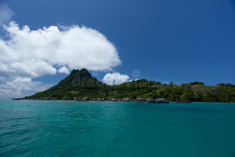 Download SEMPORNA ISLAND stock photo. Image of clouds, coral, beach - 15181870