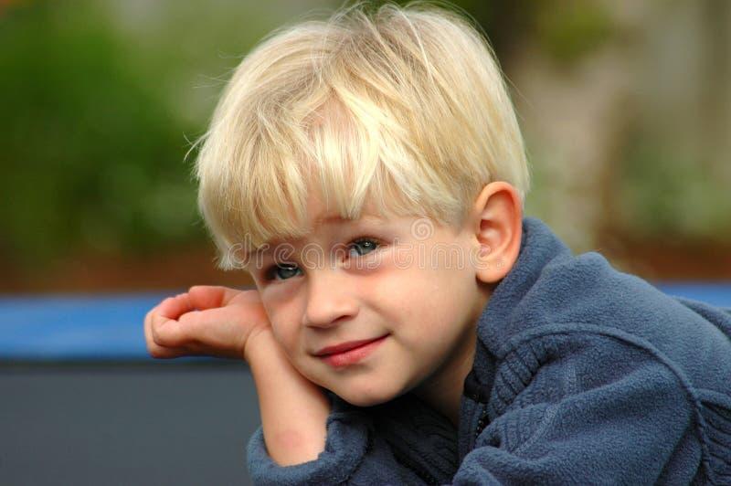 sen chłopca zdjęcie stock