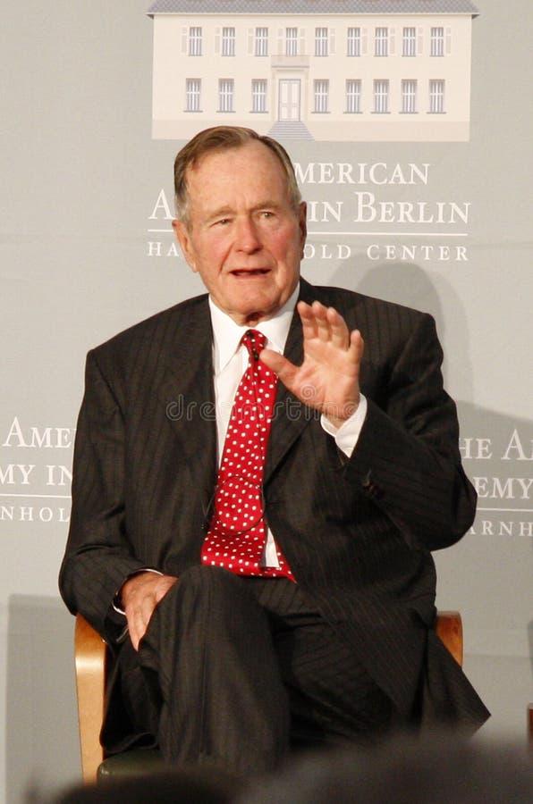 Sen de George Bush. images libres de droits
