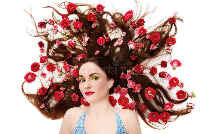 Sen i róże zdjęcie royalty free