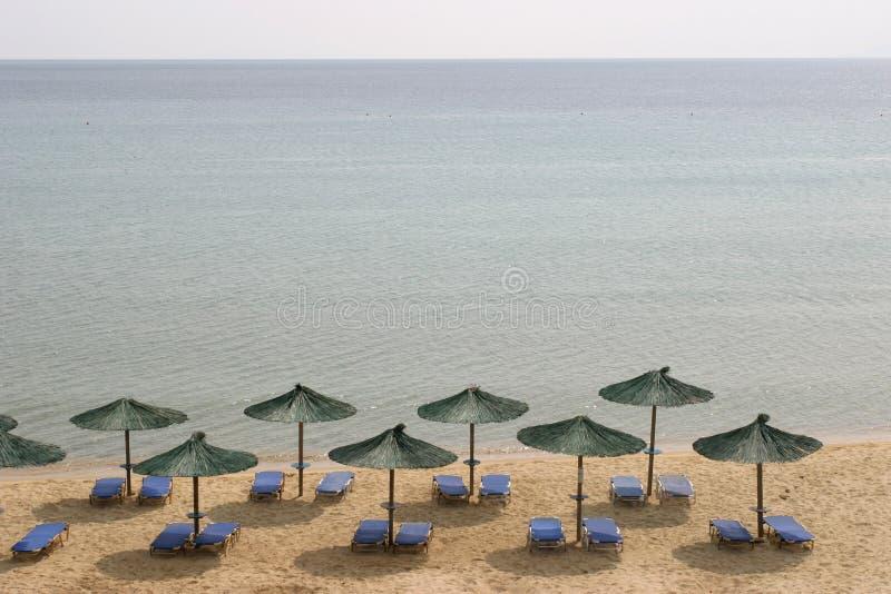 sen na plaży obraz stock
