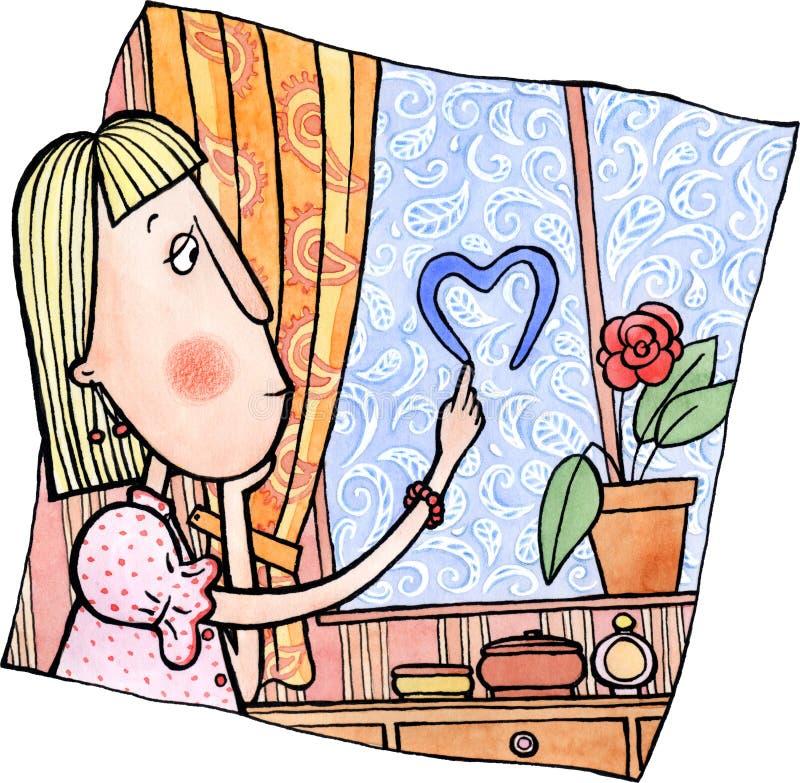 Sen o miłości ilustracji