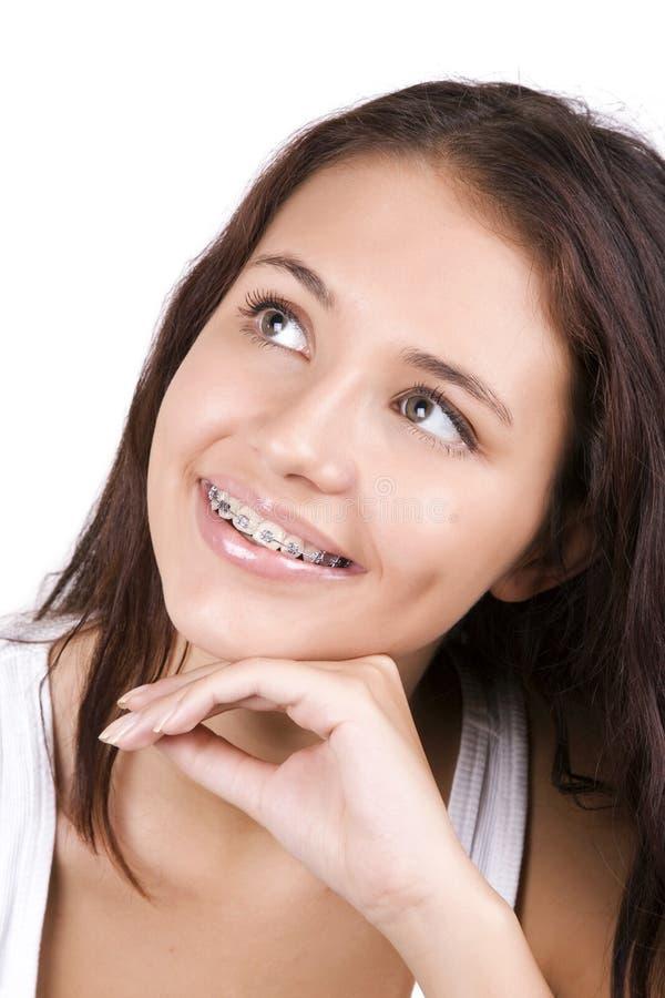 sen piękni zęby zdjęcia stock