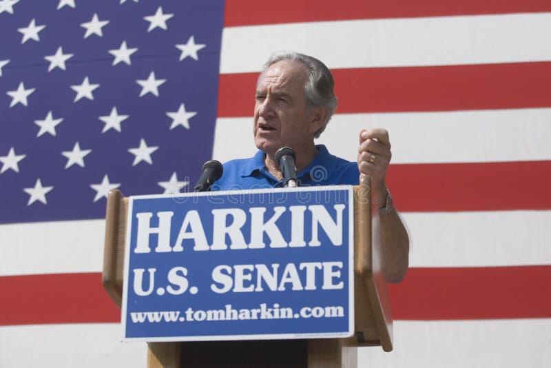 Sen. Tom Harkin de Iowa imagen de archivo
