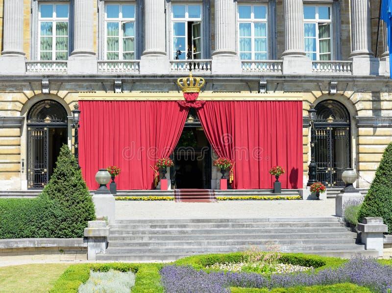 Senado belga en día nacional fotos de archivo libres de regalías