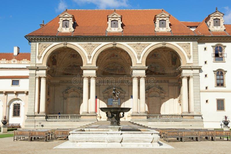 Senado checo, Praga imagen de archivo libre de regalías