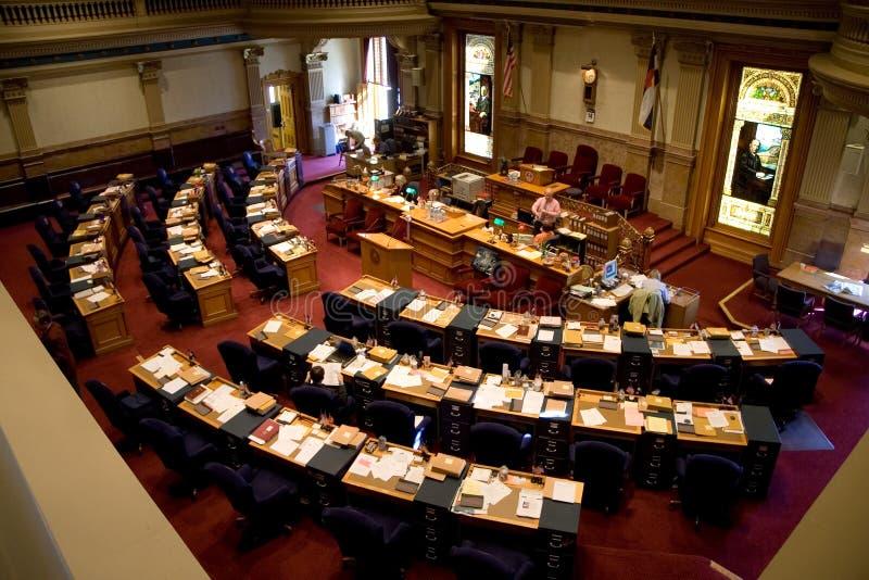 Senado de Colorado fotografia de stock