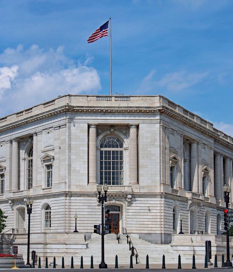 Senado de Estados Unidos, edificio de oficinas fotografía de archivo libre de regalías