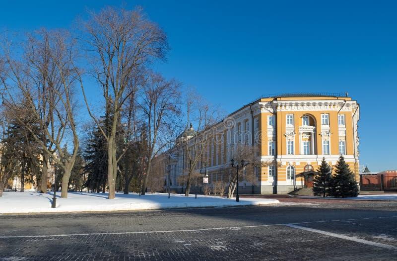 Senado del Kremlin en Moscú fotografía de archivo libre de regalías