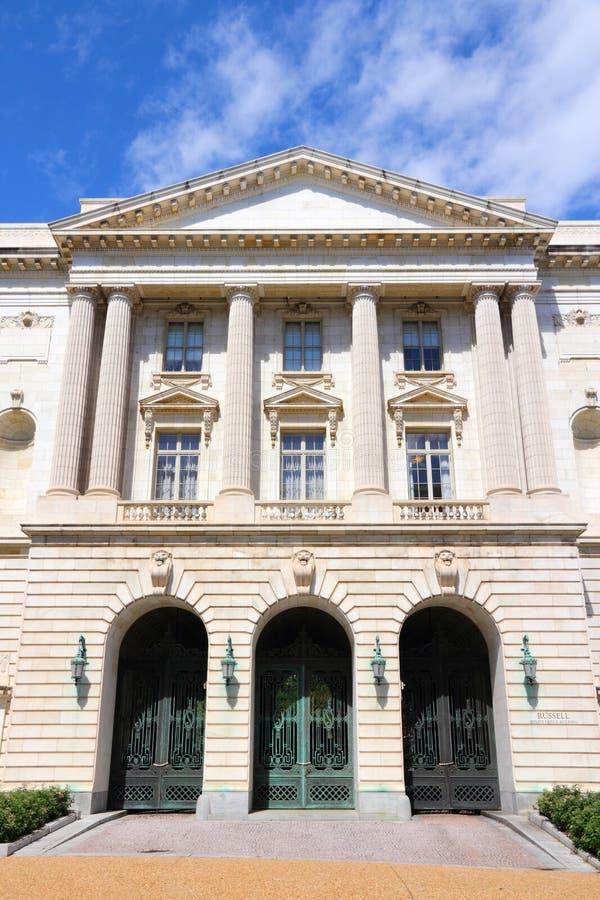 Senado en Washington DC imagenes de archivo