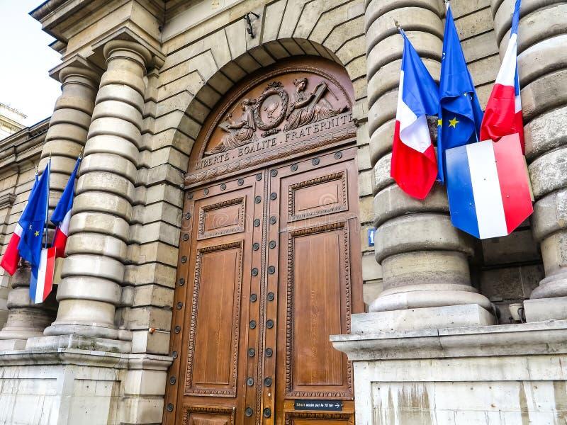 Senado - Palais Luxemburgo en París foto de archivo