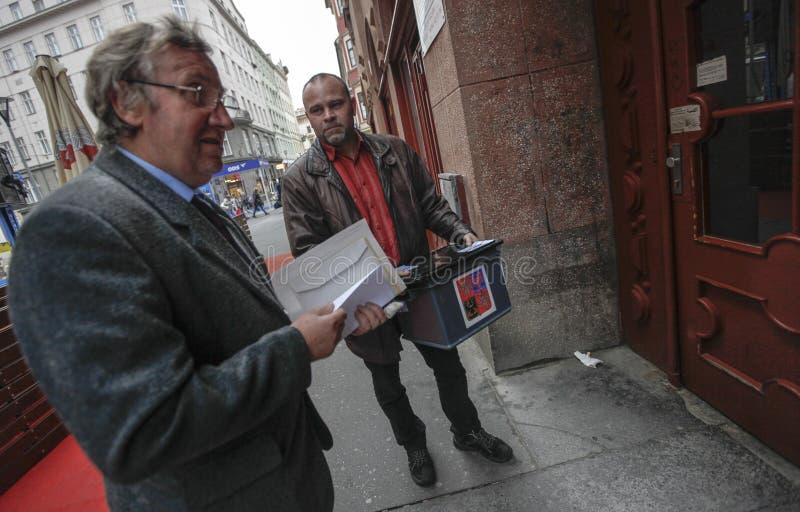 Senado y elecciones regionales en República Checa foto de archivo libre de regalías