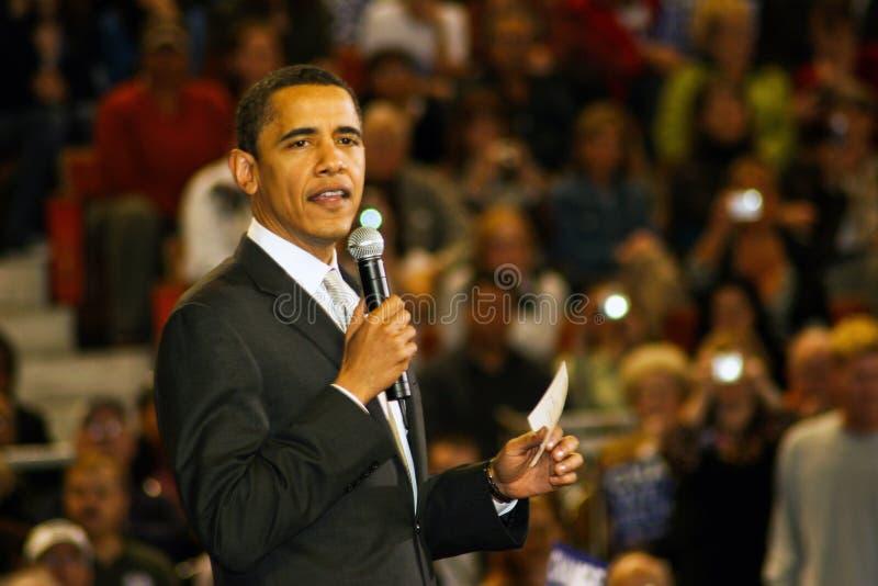 Senador Barack Obama fotos de archivo libres de regalías