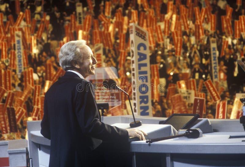 Senador Joe Lieberman foto de archivo