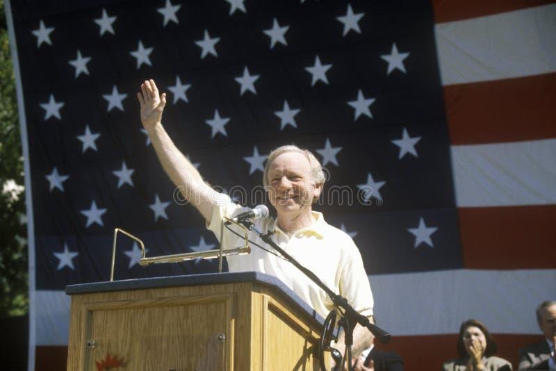 Senador Joe Lieberman foto de archivo libre de regalías