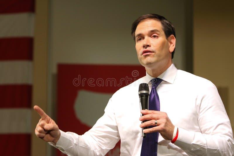 Senador Marco Rubio do candidato presidencial imagem de stock