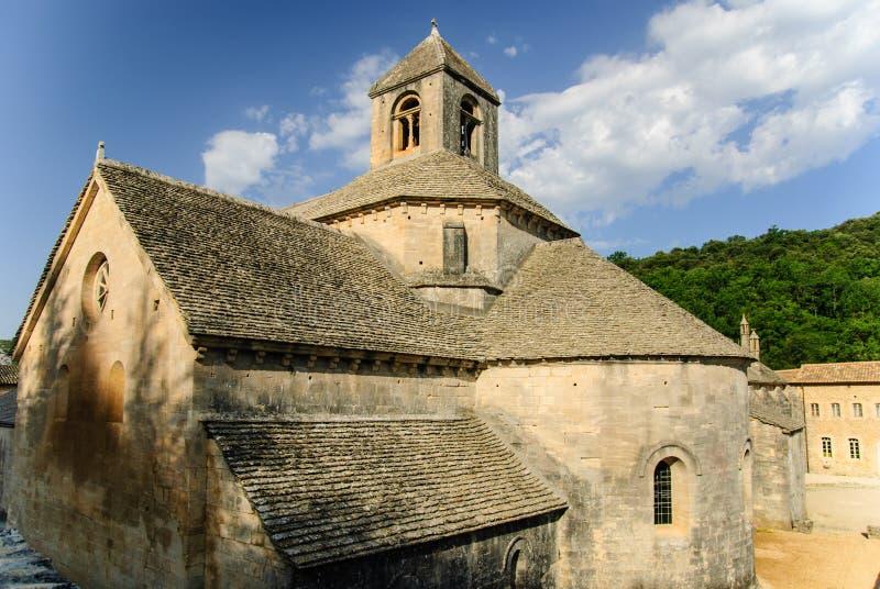 Senanque修道院,普罗旺斯,法国 免版税库存图片