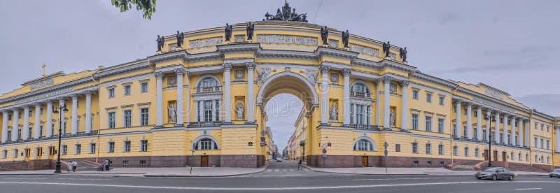 Senat & Sinod, heilige-Petersburg, Rusland stock afbeeldingen