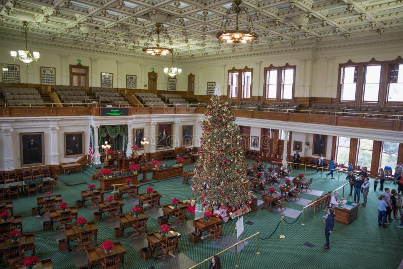 Senate Chamber Texas State capitol royalty free stock photo