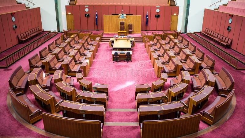 The Senate Chamber stock photo