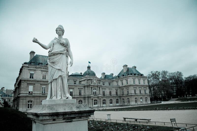 Senate, Paris stock photo