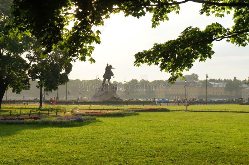 Senate Square Of Saint Petersburg Editorial Stock Photo