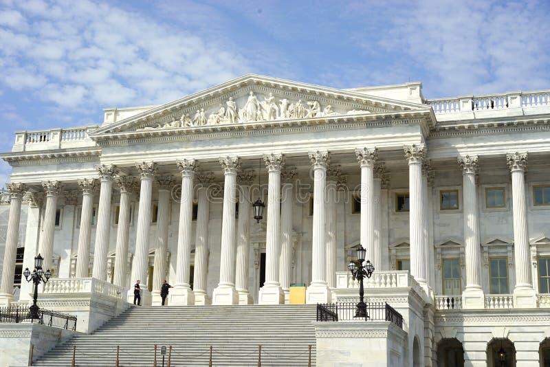 Senate wing of US Capitol royalty free stock photo