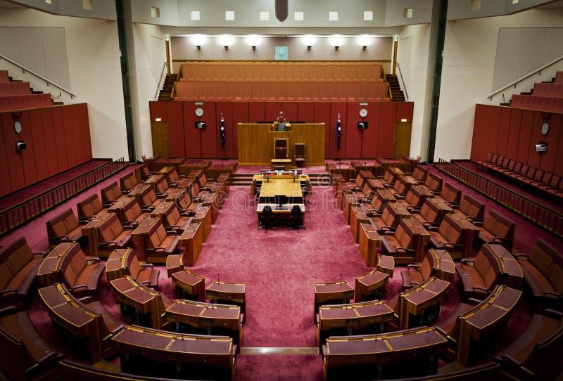 Senato australiano fotografie stock libere da diritti