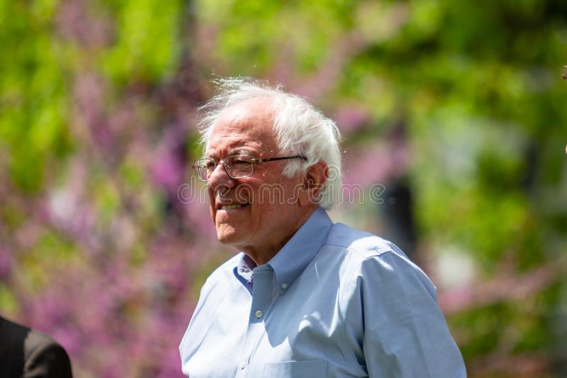 Senator Bernie Sanders lizenzfreie stockfotografie