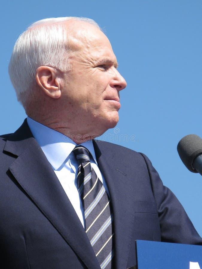 Senator John McCain royalty-vrije stock afbeeldingen