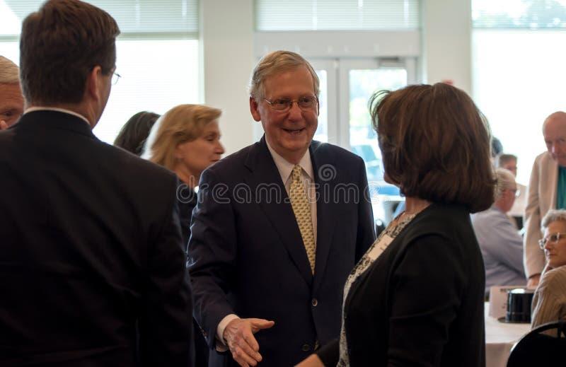 Senator McConnell 001 royaltyfria bilder