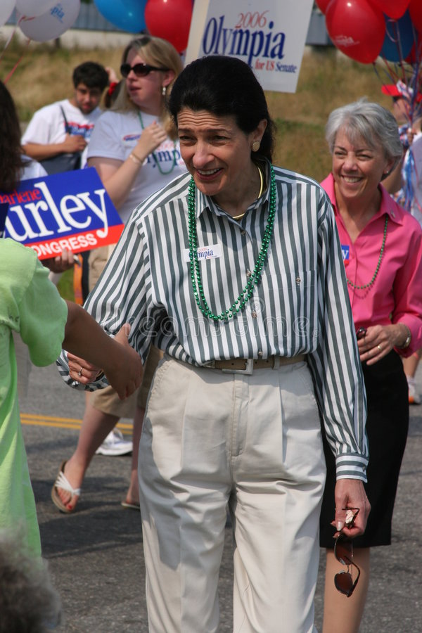 Senator Olympia Snowe lizenzfreies stockbild