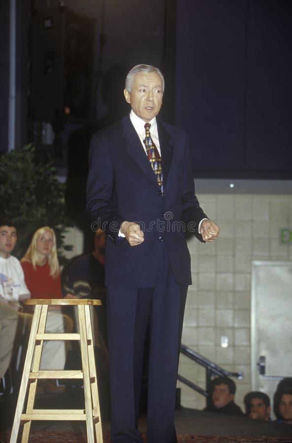 Senator Orrin Hatch fotografia de stock