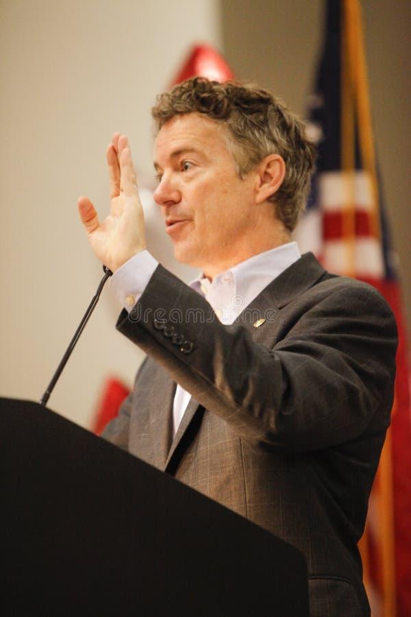 Senator Rand Paul stock foto