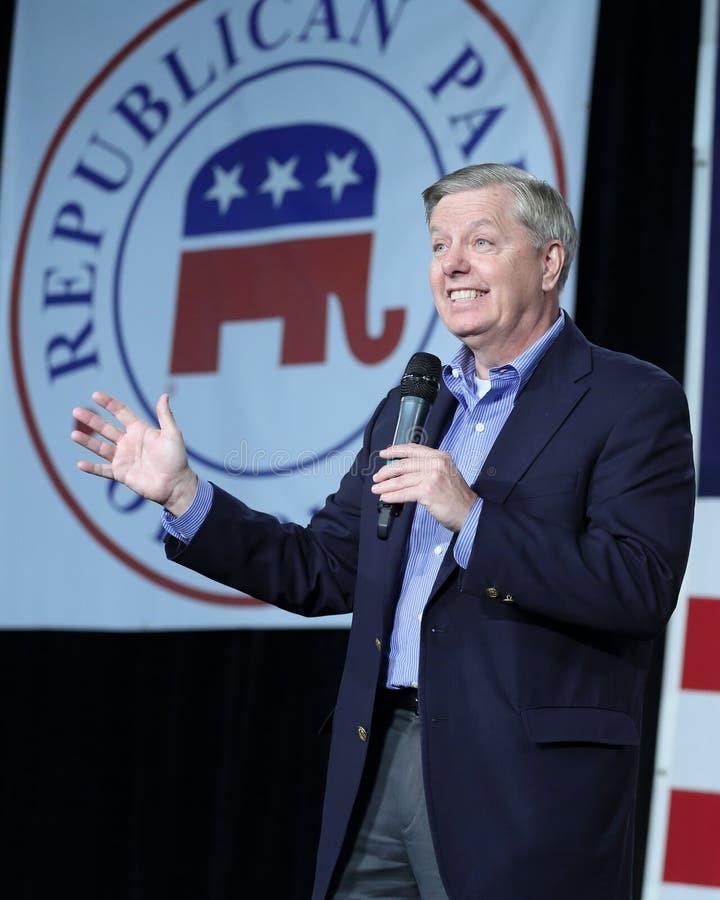 Senator Vereinigter Staaten von South Carolina, Lindsey Graham stockfotografie