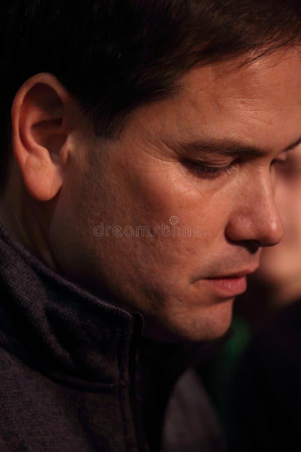 Senatore da Florida, Marco Rubio degli Stati Uniti immagine stock libera da diritti