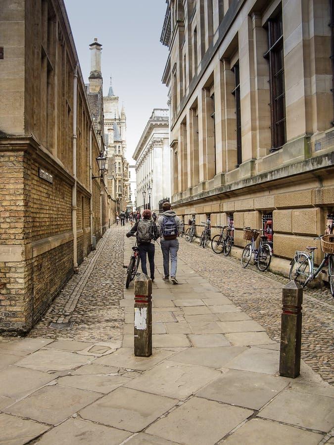 Senats-Durchgang in Cambridge am sonnigen Tag stockfotos