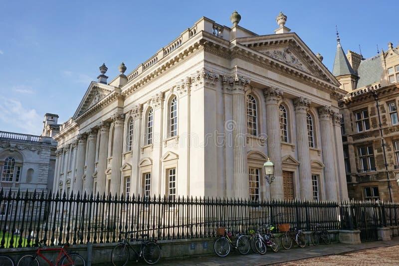Senats-Haus und Fahrräder, Cambridge, England stockfotos