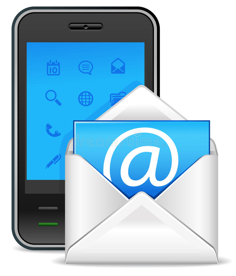 Free Send A Letter Icon Stock Photography - 19127832