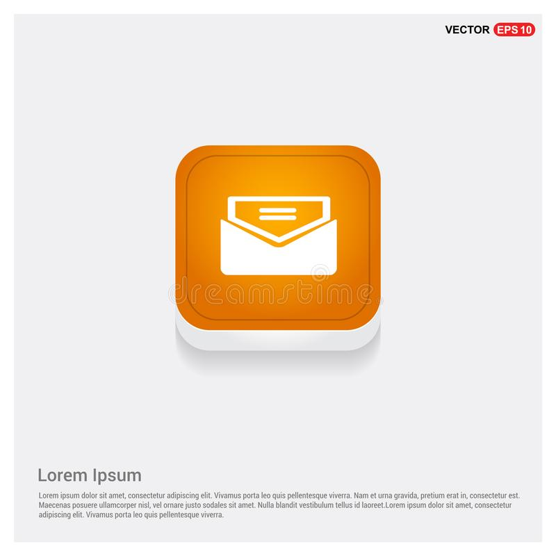 Send Mail icon. This Vector EPS 10 illustration is best for print media, web design, application design user interface and infographics with well composed royalty free illustration
