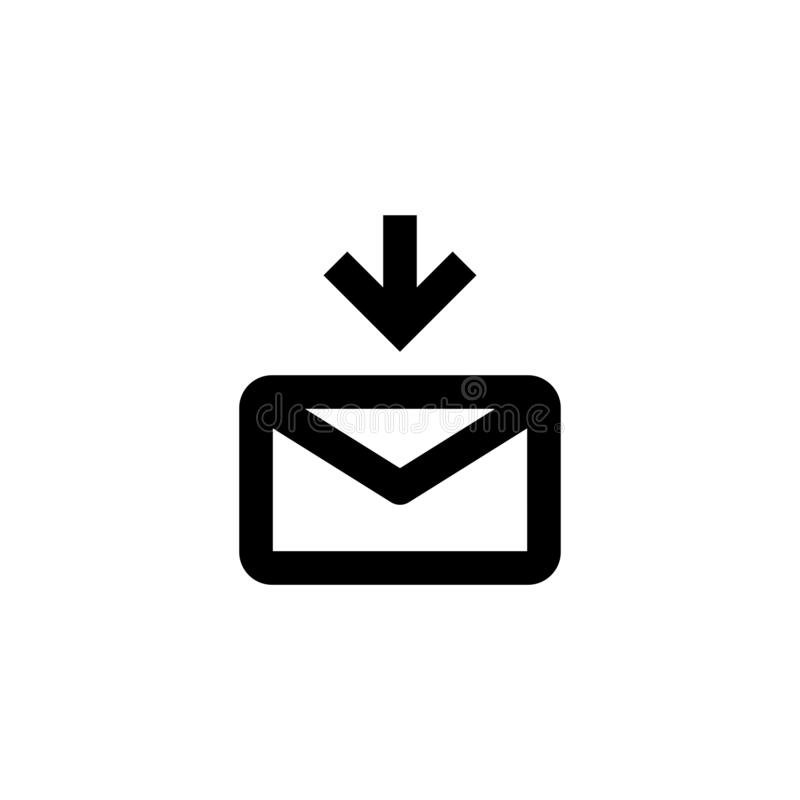 Send message icon. Share sign stock image