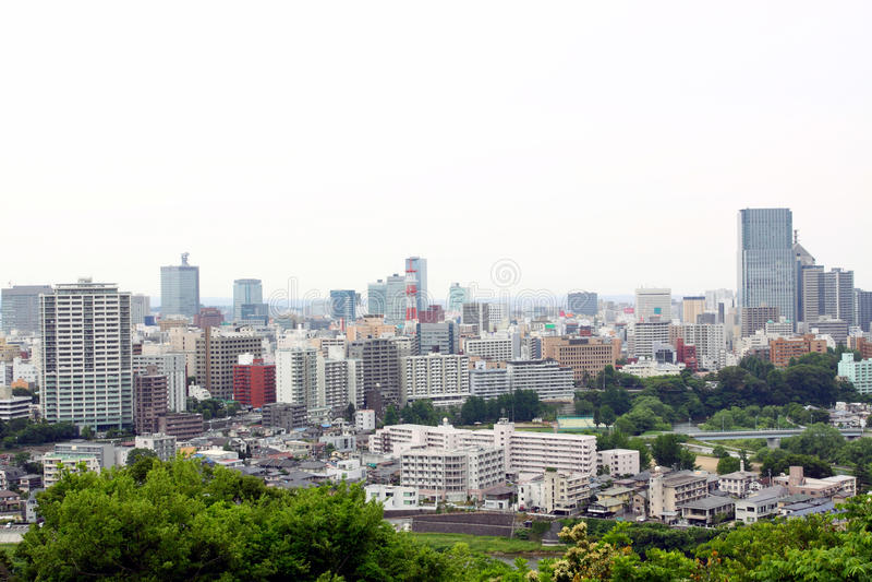 Sendai royalty-vrije stock foto's