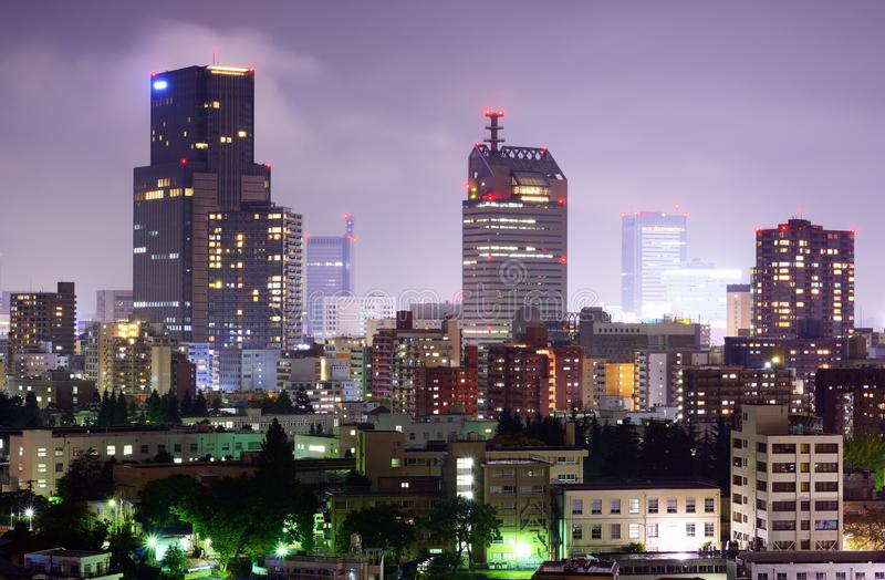 Sendai Cityscape stock foto