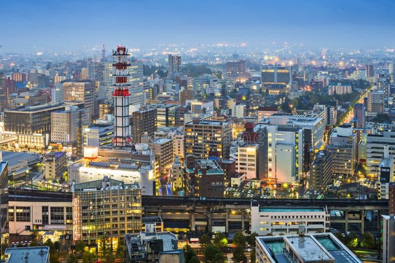 Sendai Japan stock foto's